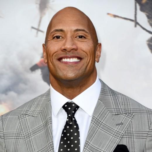 Dwayne(The Rock)Johnson)