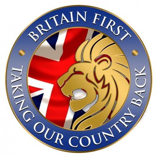 Anti - Muslim group in the UK:  Britain First.