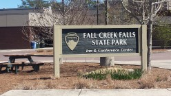 The Fall Creek Falls State Park In Tennessee