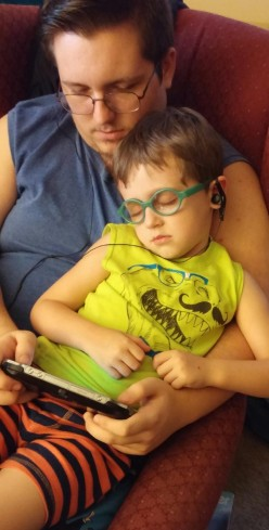 Hope Reigns...Part II:  Shwachman Diamond Syndrome and My Five Year Old Grandson