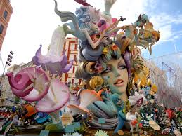 Some of these Fallas are incredibly complex and awards are given for best