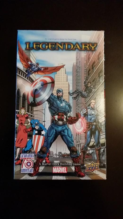 Captain America Box Art