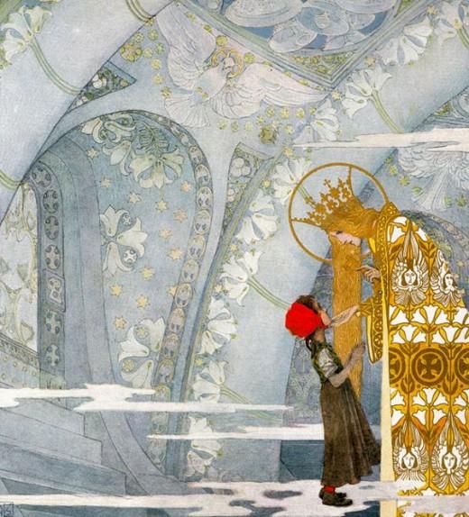 """""""Marienkind"""" - Heinrich Lefler (1863-1919) and Joseph Urban (1872-1933)"""