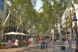 Guess?  The Ramblas in Barcelona, world's most attractive promenade?