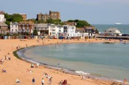 Good old Broadstairs...my birth place and Ivanna loved it?
