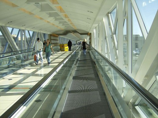 The Somerset Collection skywalk.