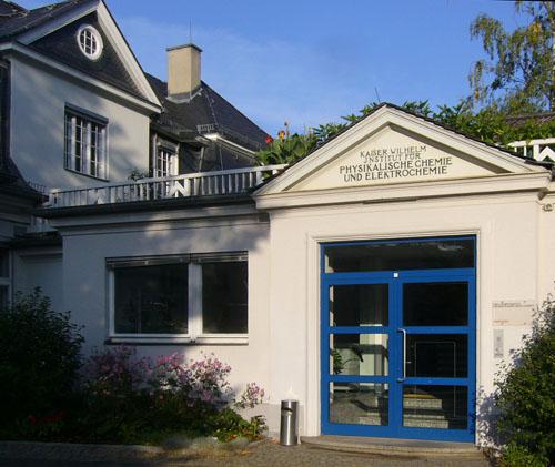 Entrance to Fritz Haber Institute