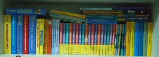 A Collection Of Works By Enid Blyton
