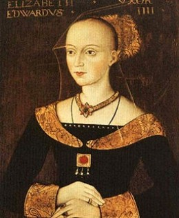 Queen Elizabeth wife of King Edward IV and mother of  a future queen