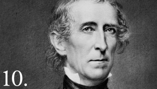 John Tyler became the tenth President of the United States (1841-1845) when President William Henry Harrison died in April 1841. He was the first Vice President to succeed to the Presidency after the death of his predecessor.