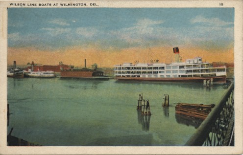Steamboat built in Wilmington.