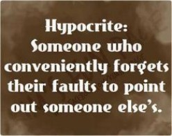 Hypocritical Hypocrite