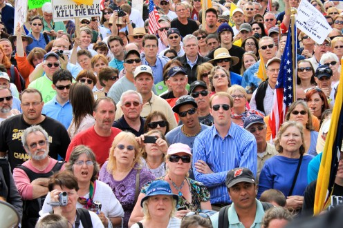 """Everything seems just fine on a daily basis with those of """"A Face in The Crowd."""""""