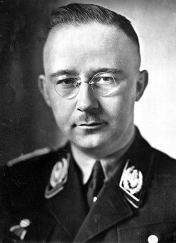 """Your equally-wicked """"second-in-command,"""" Heinrich Himmler, head of the SS Storm Troopers."""