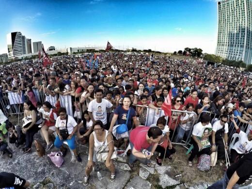 Duterte followers in Alabang, Muntinlupa, Metro Manila