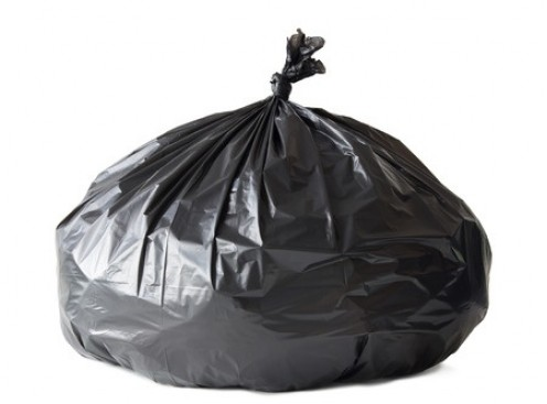 Bin bags can be your biggest allies in getting rid of rubbish but take all useful items to a charity shop and recycle all recyclables!