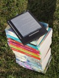 Do you prefer reading from an actual book, or from an e-reader like Kindle or Kobo?
