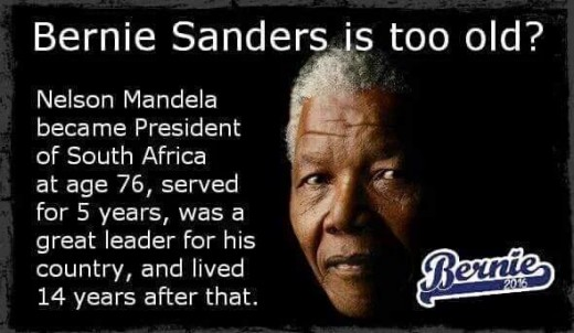 Nelson Mandela became president of South Africa at age 76, served for 5 years, was a great leader for his country and lived for 14 years after that.