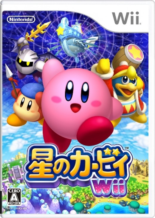 The Japanese Kirby's Return to Dream Land box art.
