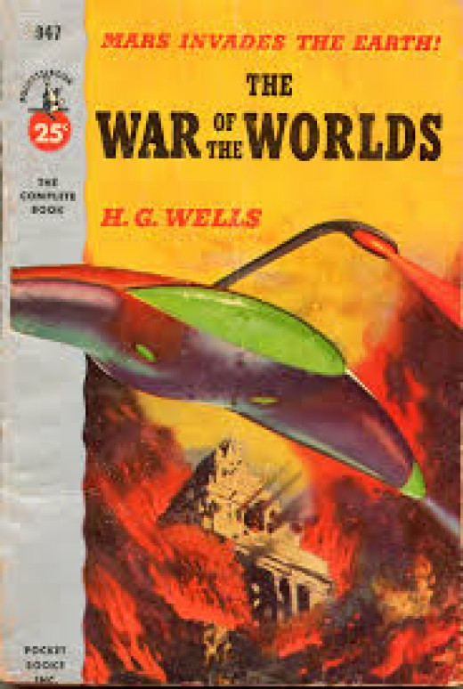 H.G.Wells War Of The Worlds.