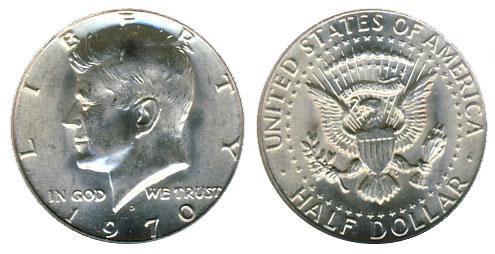 1970-D Kennedy Half Dollar