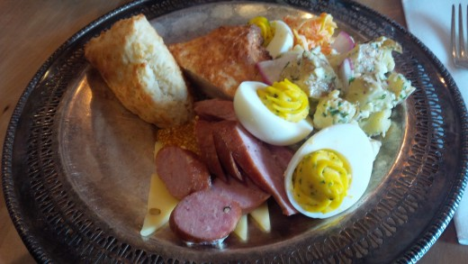 Mallard Cottage's Ploughman's Platter