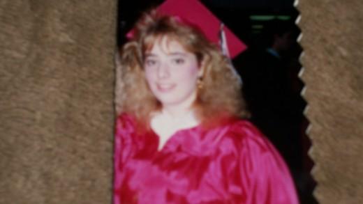 Joseph's mother's graduation 1989