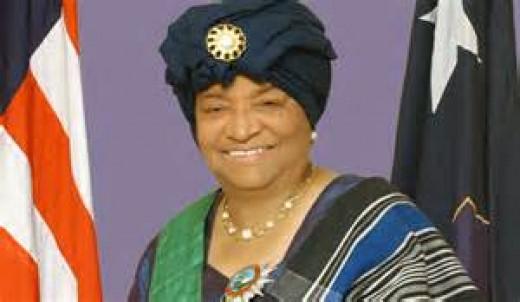 Image Ellen Johnson Sirleaf President of Liberia