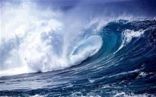 She the sea..