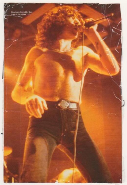 Bon Scott:  Original singer with AC/DC.