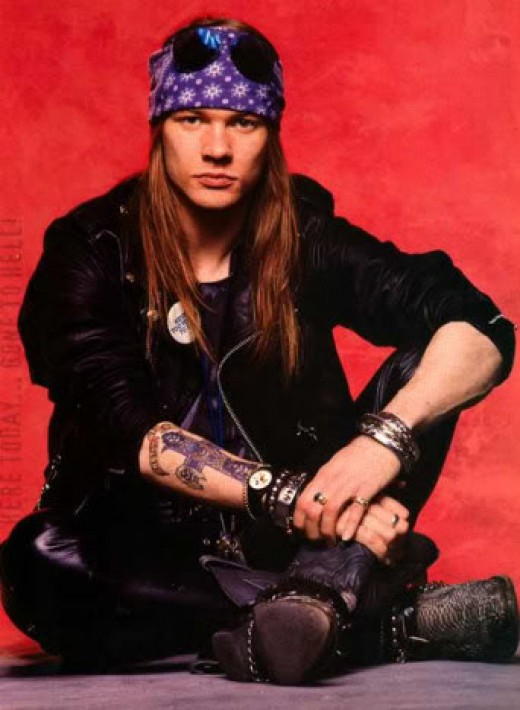 Axl Rose in his younger days has agreed to take on the job of AC/DC front man for the remainder of their tour.