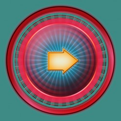 Design Stylish Red Orb Style Button in Adobe Photoshop