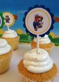 Super Mario Bros Birthday Party Favors and Supplies