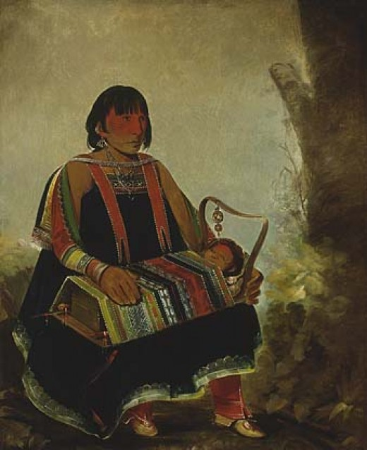 Ojibwe/Chippewa Woman