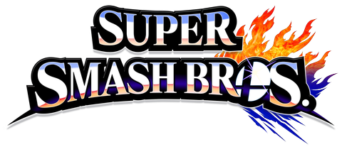 The logo for the Super Smash Bros. franchise. While the logo has had some changes, the premise is the same. Beat each other up.
