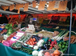 A typical French market