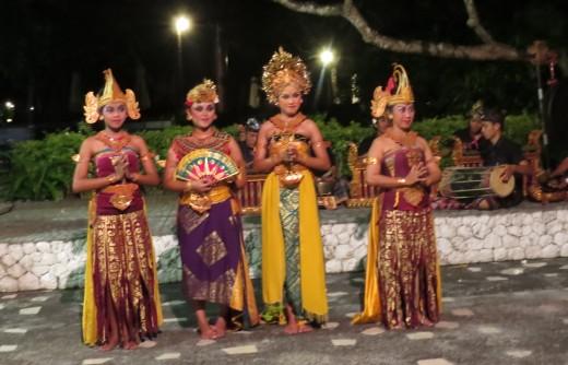 Ramayana dancers in Bali