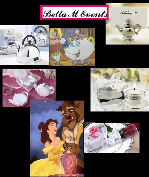 Fairy Tale Guest favors Weddings Bridal Showers Birthdays