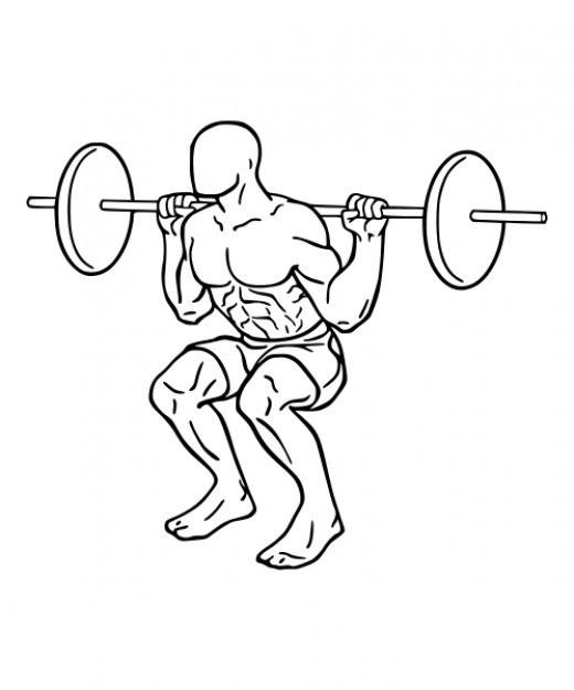 The Squat is an exercise with benefits for many ages and conditioning levels.