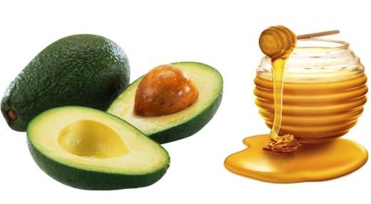 Avocado and Honey Mask for Acne