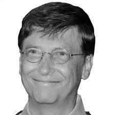 Microsoft designer, Bill Gates.
