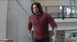 Bucky Barnes, aka The Winter Soldier, played by Sebastian Stan
