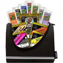 Buffalo Bills 1.75oz Beef Jerky 6-Pack Gift Cooler - A Great Father's Day Gift - the football cooler style