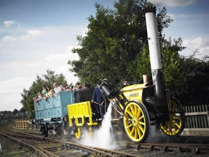 Steam Ride - York National Railway Museum
