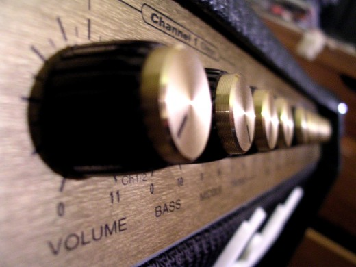 "The band Spinal Tap's custom amps go to eleven. ""Exactly. One louder,"" explained Nigel Tufnel."