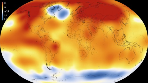 2015 was the hottest year on record.