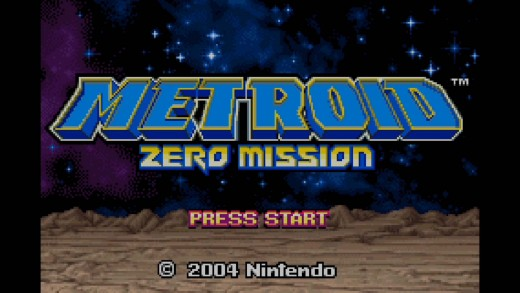 the title screen that appears shortly after you begin the game.,