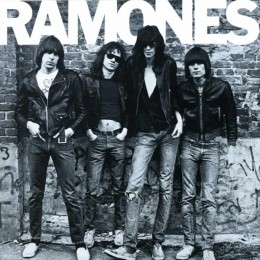 The Ramones' debut album, released in 1976, was finally certfied as a Gold record (500,000 copies sold) in 2014. Better late than never!