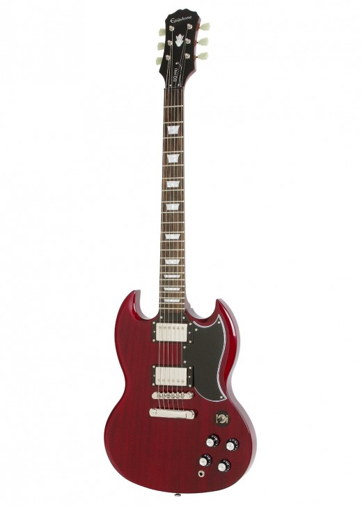 How does the Epiphone G-400 PRO compare to the Gibson SG Standard?