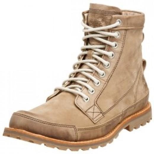 Earthkeepers eco friendly hiking boots. image:via amazon